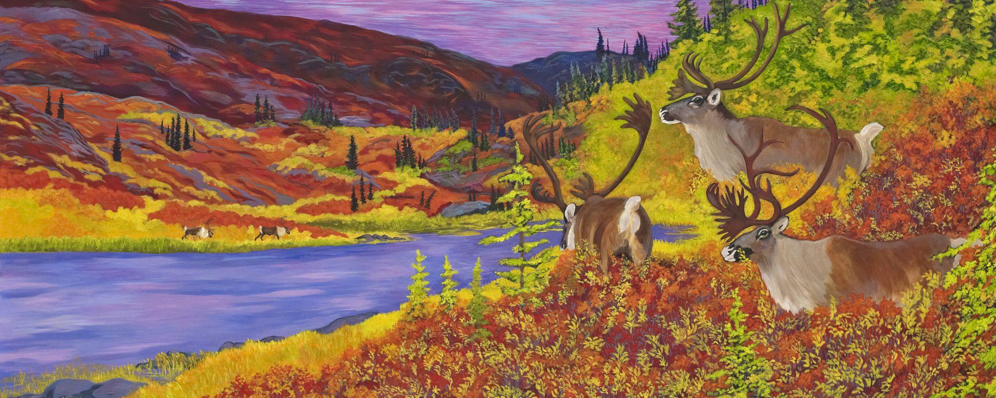 Fine Art Caribou Bay Giclee